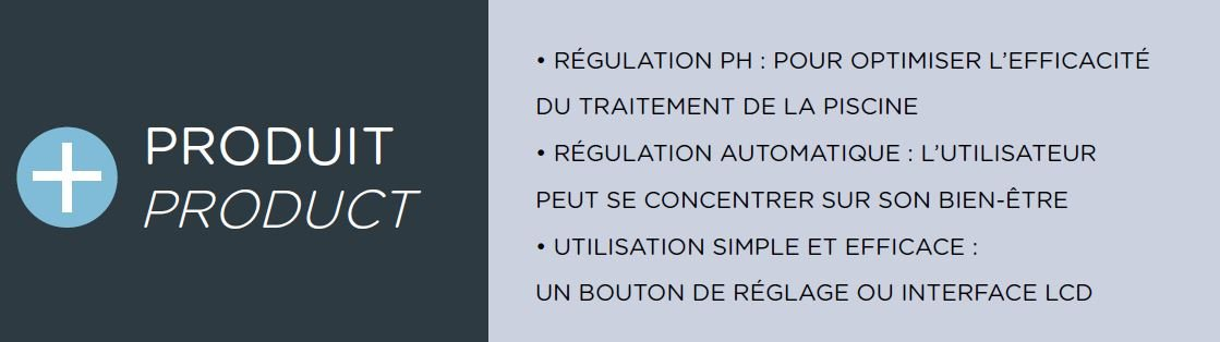 avantages regulateur PH ccei phileo LT