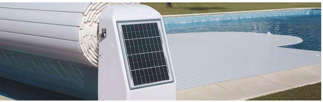 volet piscine solaire CARlit Fluidra
