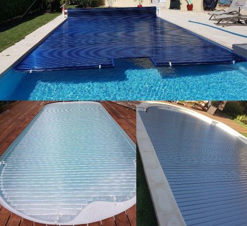 lames polycarbonates volet piscine