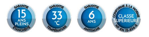garantie liner nacre